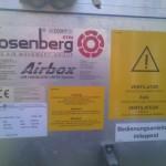 Elado ROSENBERG professzionalis klima,holegkezelo rendszer!